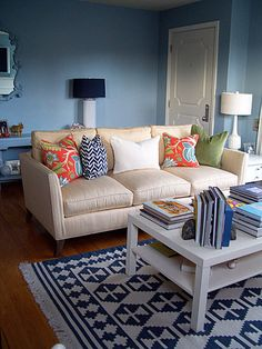 OR this blue for family room?