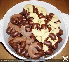 Puddingkipferl, ein sehr schönes Rezept aus der Kategorie Kekse & Plätzchen…