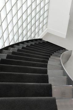 Gebogen trap, Prinsengracht V | Kodde Architecten