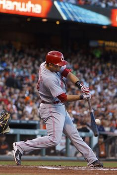 SAN FRANCISCO, CA - JUNE 28: Devin Mesoraco #39 of the Cincinnati Reds hits a single against the San Francisco Giants during the fourth inning at ATT Park on June 28, 2014 in San Francisco, California. (Photo by Jason O. Watson/Getty Images)