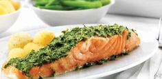 Oven Baked Salmon with a Dill Glaze | Healthy Fish Recipes – Flora pro.activ