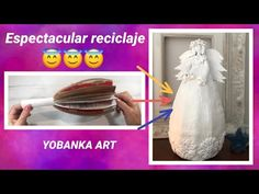 Decoupage, Pasta Flexible, Angel Art, Do It Yourself Home, Youtube, How To Make, Crafts, Diy, Handmade