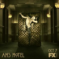 American Horror Story: Hotel premieres Wednesday Oct 7 10 PM dab is pure gold Movies Showing, Movies And Tv Shows, American Horror Story 3, Grunge, Portraits, Fantasy, Scary Movies, Music Tv, Places