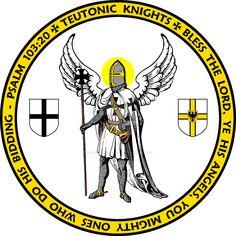 Knights Hospitaller Angel Seal by williammarshalstore on DeviantArt Knights Templar Ring, Knights Hospitaller, Crusader States, Knight Orders, 4 Kingdoms, Kingdom Of Jerusalem, Crusader Knight, Christian Warrior, Military Orders