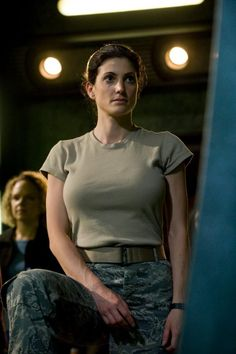 Julia Benson in SGU Stargate Universe Julia Benson, Ashley Benson, Sci Fi Tv Series, Stargate Universe, Hot Girls, Sci Fi Shows, Stargate Atlantis, Stargate Ships, Military Women