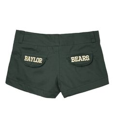 #Baylor Bears Embroidery Shorts