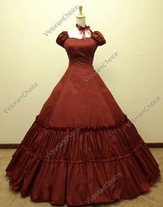 Civil War Southern Belle Dress