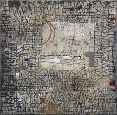 I find it interesting that some artists share certain graphic elements in their work. This is especially true with abstract painters. One mi. Abstract Painters, Abstract Art, Modern Art, Contemporary Art, Art Graphique, Letter Art, Mark Making, Calligraphy Art, Word Art