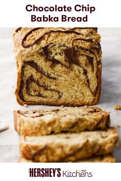 Get ready for a new addition to your recipe book: Babka Bread. This easy recipe is made with HERSHEY'S Cocoa for the perfect touch to the classic sweet. After one bite, the whole family will be beggin' for babka.