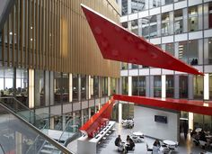 HSBC Dublin - Office Atrium Sculptural Installation