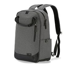 Laptop Backpack Hanmir Knapsack Waterproof Bag for Laptop Computer Bag Rucksack Computer Backpack Travel Backpack for man Business Bag Fits Up to 156 inch Laptop Gray * Read more reviews of the product by visiting the link on the image. Note:It is Affiliate Link to Amazon.