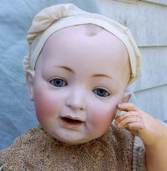 Huge antique 1910 Kestner doll