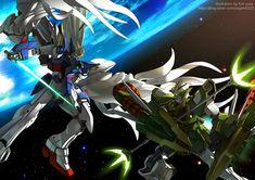 Gundam - W by GoddessMechanic.deviantart.com on @DeviantArt