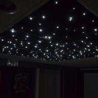 DIY fiber-optic star ceiling panels