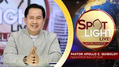 Pastor Apollo Quiboloy, also known as the Appointed Son of God, is a revolutionary preacher who brings the true message of salvation in these last days. Spiritual Enlightenment, Spirituality, Disciple Me, Kingdom Of Heaven, New Program, Son Of God, Revolutionaries, Phone Wallpapers, Apollo