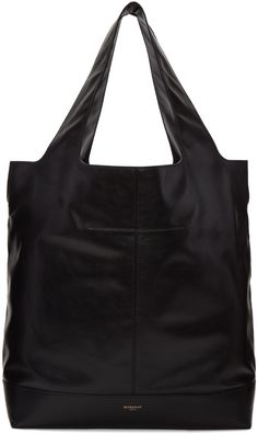 e00654e5c7dc Givenchy - Black Leather Tote Bag Givenchy Clothing