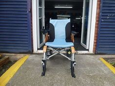 Monarch Indie-Lite transportable powered wheelchair solid tyres lithium battery
