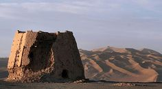 Prehistoric civilization found along Silk Road Posted by TANN Archaeologists have unearthed relics that suggest prehistoric humans lived along the Silk Road long before it was created about 2,000 years ago as a pivotal Eurasian trade network. The ruins of a Han Dynasty (202 BC - 220 AD) Chinese watchtower made of rammed earth at Dunhuang, Gansu province, the eastern edge of the Silk Road [Credit: WikiCommons]