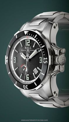 Ball Watch Engineer Hydrocarbon Hunley Automatic diving (Ref. PM2096B-S1J-BK)