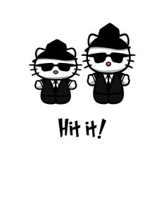 blues brother kittys by yayzus.deviantart.com on @deviantART