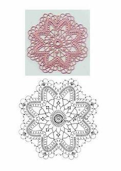 Die Motive - Ксения - Picasa Web Albums  Round crochet motif