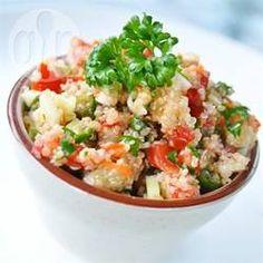 Tabula z komosą ryżową (quinoa) http://allrecipes.pl/przepis/424/tabula-z-komos--ry-ow---quinoa-.aspx
