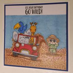 My version of go wild from Gerda Steiner
