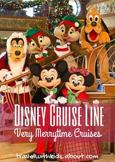 Very Merrytime Cruises take place on most voyages aboard all Disney Cruise Line ships from late November through early January. Available sailings range in length from three to seven nights with itineraries to the Caribbean and Bahamas, including Castaway Cay, Disney's private island. #DCLHolidays   About.com Family Vacations