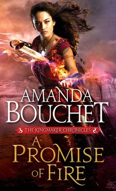 A Promise of Fire by Amanda Bouchet (Kingmaker Chronicles #1)  There was not one thing I didn't like about A Promise of Fire, unless you count it ended to soon. The characters and world are well developed but not over described, the plot was vivid and amazingly conceived with twist and turns that kept you enthralled and the sexual tension that develops between Griffin and Cat…makes you want to read on and on.  http://tometender.blogspot.com/2016/07/a-promise-of-fire-by-amanda-bouchet.html