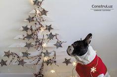 DIY - navidad en casa con @contruluz  www.construluz.com - info@construluz.com.ar   #luces, #deco & #showroom