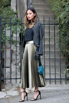 45 Stylish Fall Outfits With Cullotes fashion # fashion Fashion Mode, Fashion 2017, Modest Fashion, Look Fashion, Autumn Fashion, Fashion Trends, Street Fashion, Womens Fashion, Milan Fashion