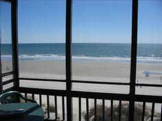 Palmwood Villas Vacation Rental - VRBO 220484 - 2 BR Crescent Beach Condo in SC, Ocean Front North Myrtle Beach Condo