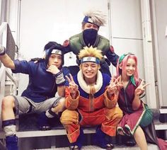 Pictures from The Naruto Live Spectacle. Top Cosplay, Epic Cosplay, Awesome Cosplay, Naruto Uzumaki, Kakashi Hatake, Sasunaru, Naruto Live Action, Sasuke Cosplay, Naruto Team 7