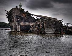 Old Abandoned Ship