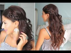 cute summer braids