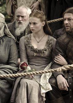 Sophie Turner as Sansa Stark inGame of Thrones (TV Series, 2011).