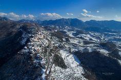 Picinisco da Nord, Winter Edition! Quando il cuore diventa un deltaplano! When the heart becomes a hang-glider! cit.  Grazie per la foto a @MattiaMarkII!