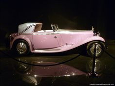 1934 Delage D8SS Cabriolet. @Deidré Wallace