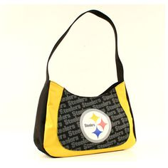 BACK IN STOCK! ONE PITTSBURGH STEELERS, CURVE HOBO SWAG PURSE FROM LITTLE EARTH #LittleEarth #PittsburghSteelers