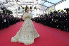 Sonam Kappor In Elie Saab   2015 Cannes Film Festival