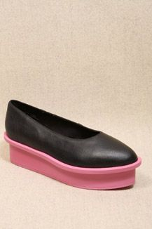 i'm strangely attracted to these - Cheap Monday Black Ballerina Flatforms
