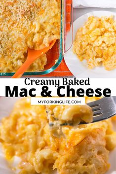 This easy creamy baked Macaroni and Cheese recipe is the perfect combination of flavor and creaminess! This is the recipe to use when making that big casserole of macaroni and cheese Thanksgiving Side Dishes, Thanksgiving Recipes, Quick Recipes, Quick Easy Meals, Creamy Baked Macaroni And Cheese Recipe, Vegetable Recipes, Vegetable Sides, Beef Casserole Recipes, Easy Pasta Dishes