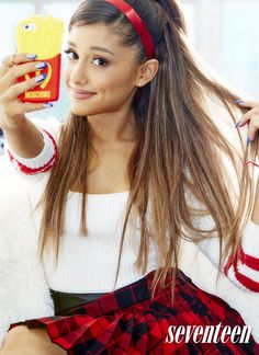 "Ariana Grande Covers Seventeen Magazine and Reveals She's ""Fallen Out of Touch"" With Her Father  Ariana Grande, Seventeen Magazine"