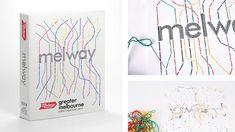 Design Students reimagine iconic books as handmade artworks | Inspiration Grid | Design Inspiration