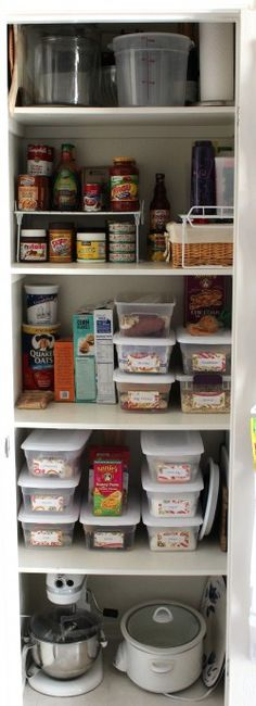 Organized Pantry, risers on shelves#Repin By:Pinterest++ for iPad#