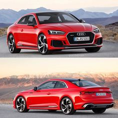 Yay or nay? -- 2.9 v6 // 450hp // 600nm torque #Audi #newRS5 at #genevamotorshow ---- pictures Audi / edit @audidriven oooo #audidriven - what else ---- #AudiRS5 #RS5 #RS5Coupe #quattro #4rings #AudiSport #drivenbyvorsprung #redRS5 #audirsperformance #gims #audigims #carsbyaudisport #redaudi #geneva
