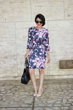 A Love Affair With Fashion : NYFW Day 7: Fall Florals
