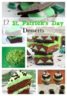 12 Delicious St. Patricks Day Desserts