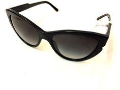 f463a06725 Stella McCartney Cateye Black Sunglasses - SM4033 2055/8G 58 MSRP $225 # StellaMcCartney #