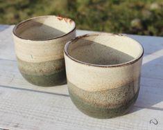 Beige, olive green coffee or tea bowl – READY TO SHIP – Original espresso cup. Hygge mug! Handmade Ceramic, Handmade Items, Ceramic Glaze Recipes, Pottery Designs, Pottery Mugs, Espresso Cups, Tea Bowls, Ceramic Cups, Moscow Mule Mugs